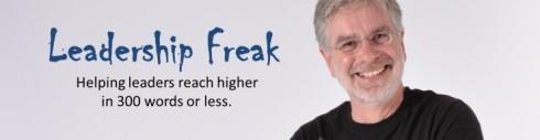 Dan Rockwell, Leadership Freak Blog